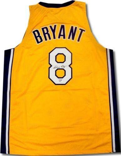 Signed Kobe Bryant Jersey - #8 B08871