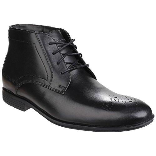 Rockport Style Connected - Scarpe Alla Caviglia in Pelle - Uomo nero