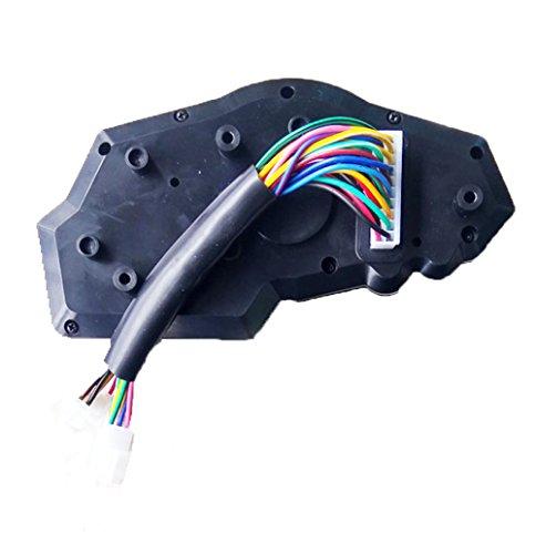 Samdo Universal 6 Gear LCD Motorcycle Sdometer Odometer RPM Sd Fuel on