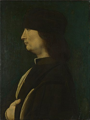 [Oil Painting 'A Man In Profile 1498-1516, Giovanni Antonio Boltraffio' 10 x 13 inch / 25 x 34 cm , on High Definition HD canvas prints is for Gifts And Bar, Living Room And Nursery Decoration,] (Pictures Of Jazz Dance Costumes)