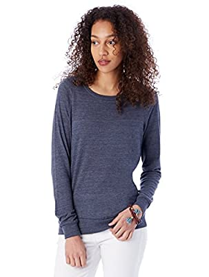 Alternative Women's Slouchy Pullover Sweatshirt - Womens Clothing ...