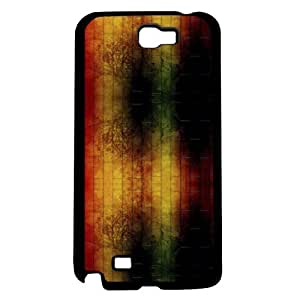 Red, Yellow, and Green Brick Hard Snap on Phone Case (Note 2 II)