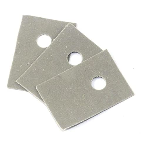 100PCS TO-220 Insulation Pads Silicone Heatsink Shim for Laptop CPU GPU NEW T9 (Silicon Thermal Pad)