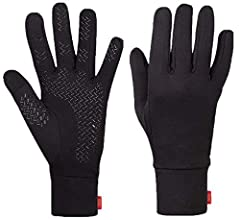 Aegend warm gloves running gloves liner cycling gloves sports touchscreen gloves thin lightweight running gloves women men cold weather winter spring fall gloves with touch screen fingers thermal gloves cycling drving climbing outdoor sports ...