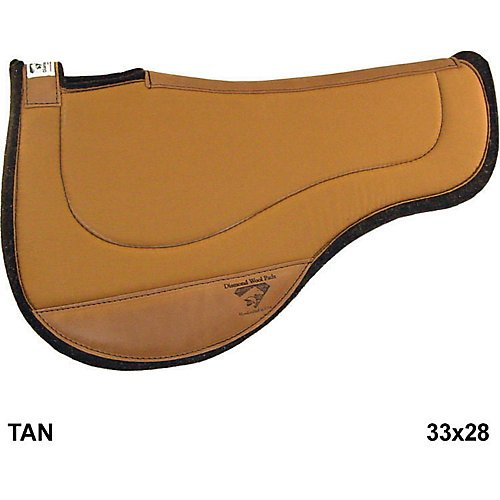 Diamond Wool Endurance Contour Ranch Pad