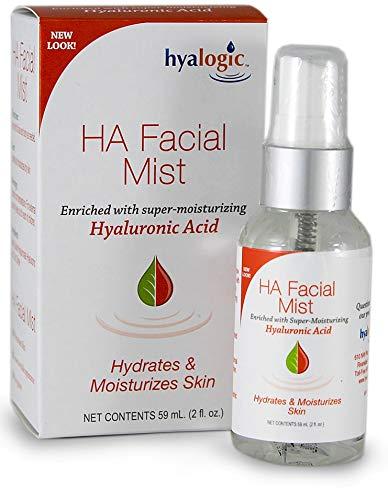 Hyaluronic Acid Facial Mist-Moisturizer Spray, Hydrating Primer & Makeup Setting Spray - 2 oz.