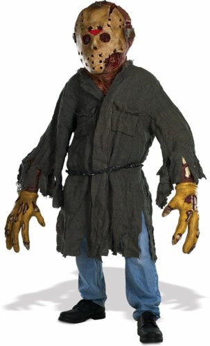 Friday The 13th Jason Voorhees Creature Reacher Deluxe Oversized Mask and Costume ()