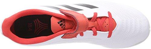 adidas Predator Tango 18.4 In H&l, Zapatillas de Fútbol Unisex Niños Blanco (Ftwbla / Negbas / Correa 000)