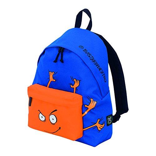 Pocket BASTARDIDENTRO Leisure amp; in 24 Orange The School Round Front Secret Lt Backpack Blue Graphics TqP441