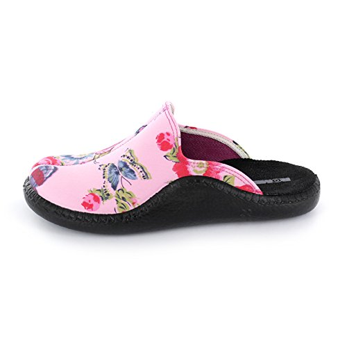 Romika Femme 464 Rose Rosa Rosa Multi 61116 68 Pour Chaussons rXBWUrqgw