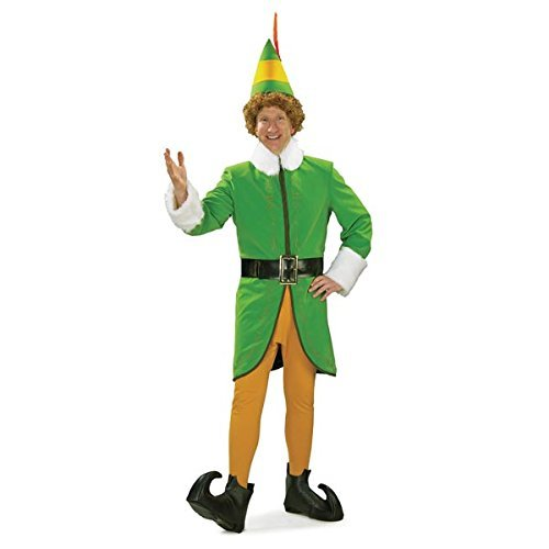 Rubie's Buddy The Elf Deluxe Costume - Adult 25540 (Deluxe Buddy The Elf Costume)