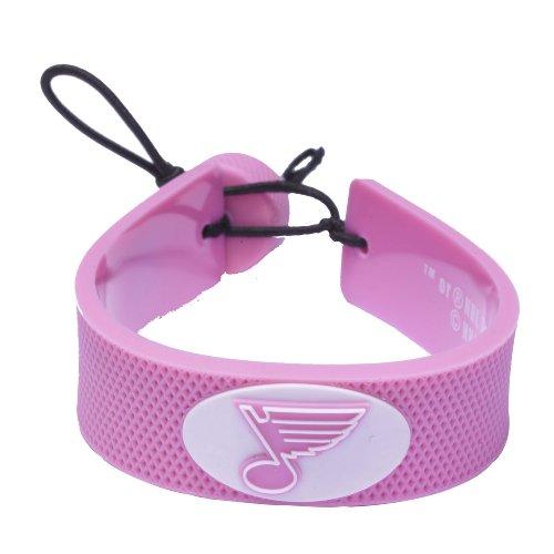 NHL St. Louis Blues NHL Pink Hockey - Hockey Pink Bracelet Nhl