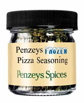 Frozen Pizza Seasoning By Penzeys Spices .3 oz 1/4 cup jar