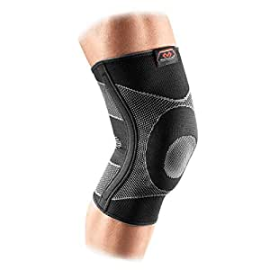 Mcdavid 5116R Knee Sleeve 4-Way Elastic With Gel Buttress And Stays - Black, XL