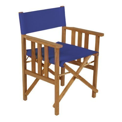 Gardenista Blue Replacement Waterproof Cover for Directors Chair