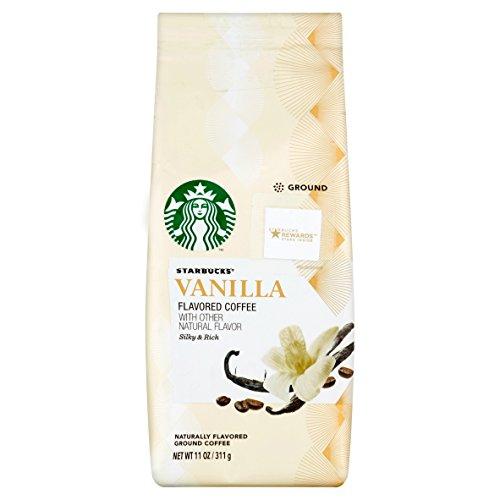 Starbucks Vanilla Coffee - Starbucks Natural Fusions Vanilla Ground Coffee, 11 Ounce (1pack)