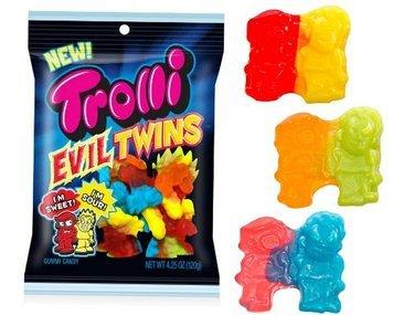 Trolli Evil Twins 12 Packs of 4.25 Oz - Cos11