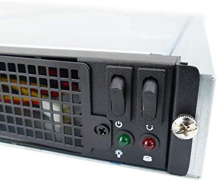 Caja ATX rack19 1U F545 4x3.5 para 2 Atom Mini-ITX Extraible de ...