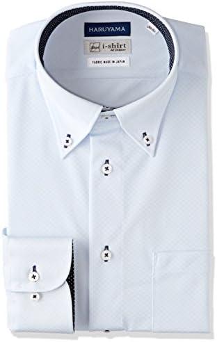 [アイシャツ] i-shirt 完全ノーアイロン ストレッチ 速乾 スリムフィット 長袖 アイシャツ ワイシャツ メンズ