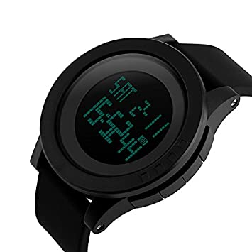 Bounabay Men s Military Digital Sport Watch Water Resistant Outdoor LED Back Light Display