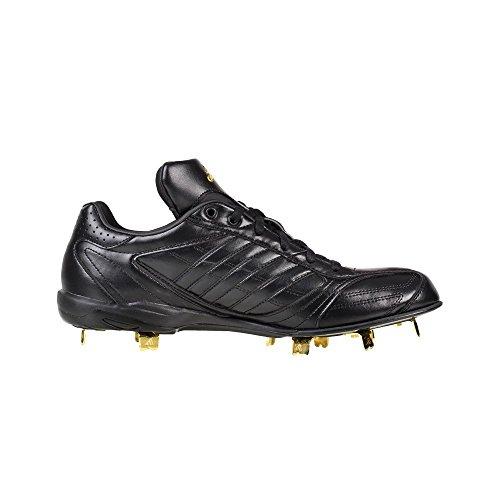 adidas - Adipure IC Low - G67437 - Color: Golden-Black - Size: 9.5 (Adipure Adidas Leather)