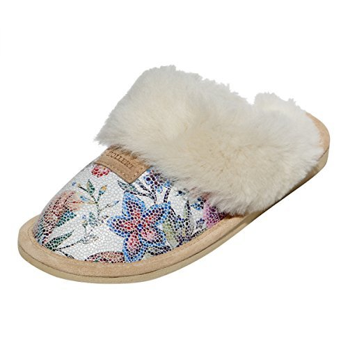 Hollert Peau De Mouton Chaussons - Sidney Modell 7 Pantoufles Pour Dames Chaussures Avec Laine