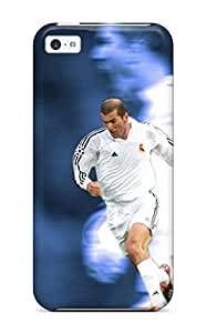 For CaseyKBrown Iphone Protective Case, High Quality For Iphone 5c Zinedine Zidane Skin Case Cover