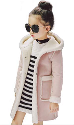 4db442ea35ef3  イダク  女の子 長袖 秋冬コート 裏ボアコート キッズ 子供服 ジュニア 厚手 アウター ロング