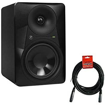 mackie mr624 6 5 2 way powered studio monitor single with xlr xlr cable musical. Black Bedroom Furniture Sets. Home Design Ideas