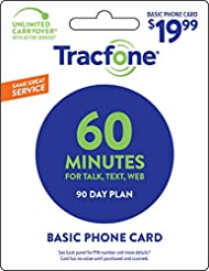 Tracfone 60 Minute Card + 90 days of Ser...