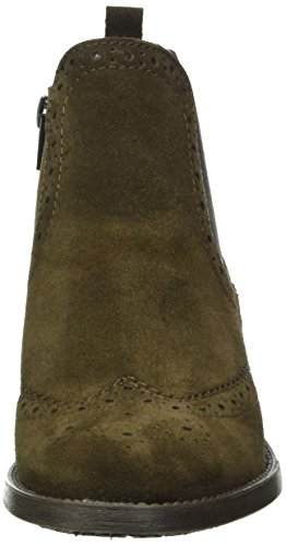 Chelsea Black 304 black Boots Tamaris mocca Brown 003 6 25493 Women's Uk HxwIFE1a