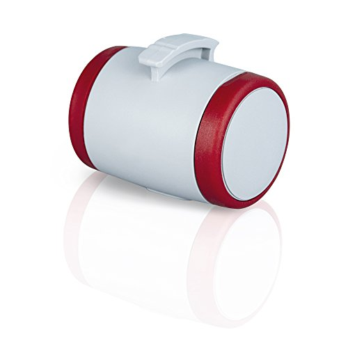 flexi Roll-Leinen-Zubehör Multi Box grau/rot (passend flexi Vario und New Classic ab Gr. S)