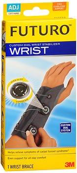Futuro Custom Dial Wrist Stabilizer Adjustable Left Hand - 1 ea., Pack of 5
