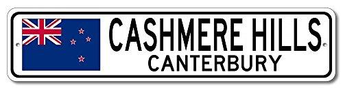 The Lizton Sign Shop Cashmere Hills, Canterbury Aluminum New Zealanders, Kiwi Flag Sign, New Zealand Custom Flag Sign - ()