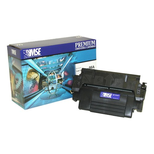 MSE MSE02219814 Remanufactured Toner Cartridge for HP 98A Black