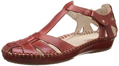 Pikolinos P. Vallarta 655 - Sandalias de Vestir de cuero mujer marrón - Marron (Sandia)