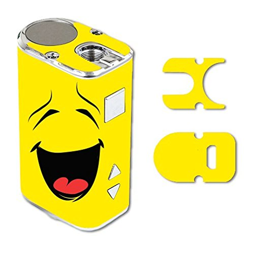 Eleaf iStick 10W Mini Vape E-Cig Mod Box Vinyl DECAL STICKER Skin Wrap / Smiley Face Emoticon Emoji