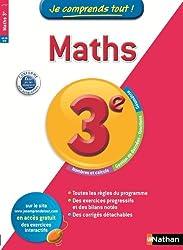 Je comprends tout! Maths 3 e