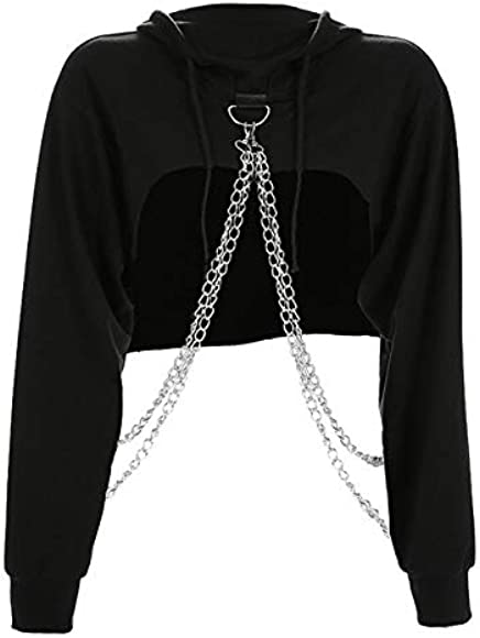FFDFZD Hooded Hoodies Women Igothic