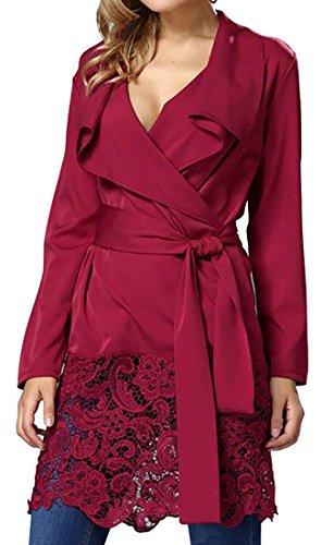 cheetah print tunic dress with belt - 2