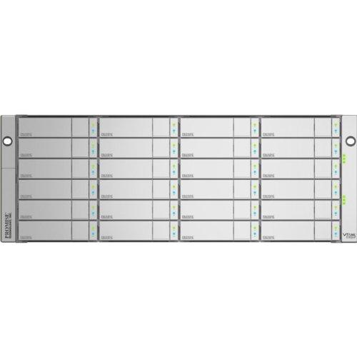 Promise VTrak x30 - Hard drive array - 24 bays ( SATA-600 / SAS-2 ) - 0 x - 8Gb Fibre Channel (external) - rack-mountable - 4U