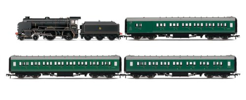 Gauge Dcc Locomotive (Hornby R2815 00 Gauge Southern Suburban 1957 DCC Ready Limited Edition 2500 Train Pack Steam Locomotive)