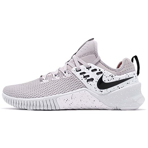 cheaper e0237 9bb87 Nike Men s Metcon Free Training Shoe Atmosphere Grey Black-Pure Platinum  10.0