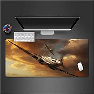 Juego de Caucho Natural Jugador computadora Mouse Pad HD impresión ...