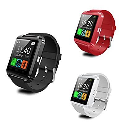 Henscoqi Luxury U8 Smart Wrist Watch with Bluetooth for Android Phone Smartphones