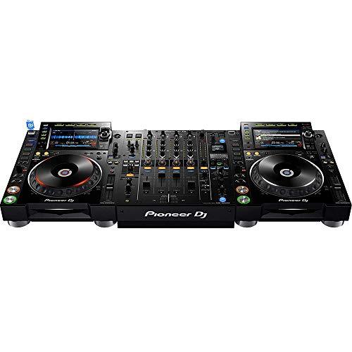 Pioneer CDJ-2000NXS2 Pro-DJ Multi-Player - Black Bundle with DJM-900NXS2 Mixer and Austin Bazaar Polishing Cloth ()