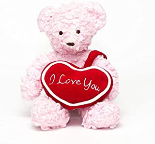 "product image for Bears For Humanity 12"" I Love You Bear, Pink"