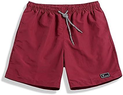 WDDGPZDK Pantaloncini Da Spiaggia//Summer Beach Shorts Per Maschi Uomini Casual Uomo Pareggiatore Colori Solidi Uscite Maschio Indossare Pantaloncini Uomini Tronco Plus Taglia M-5Xl