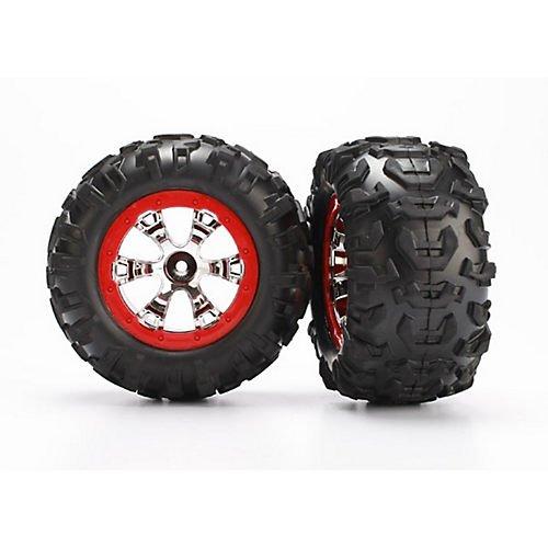 Red Beadlock Wheels - 3
