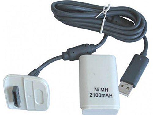 Bateria mando XBOX 360 con cargador. 2100 mAh: Amazon.es ...